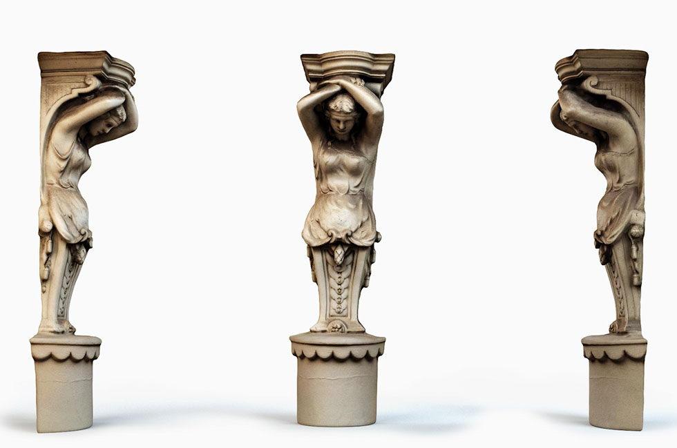 Decorative Sculpture 3D Model