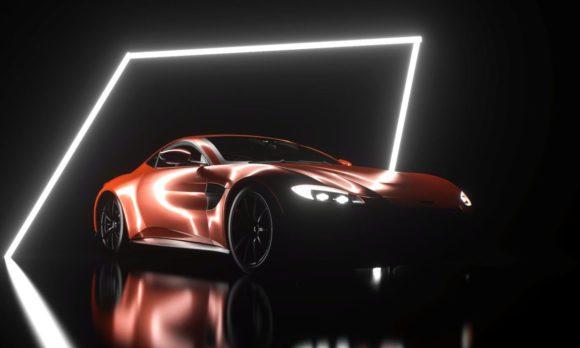 Aston Martin Vintage 3D Model