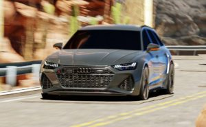 Audi RS 6 Avant 3D Model