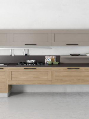 Basic Kitchen Design 3D Model
