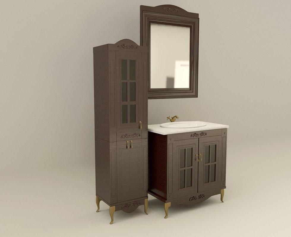 Bathroom Furniture 3D Model