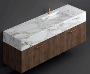 Bathroom Marble Sink 3D Model