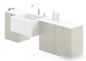 Bathroom Sink Free 3D Model