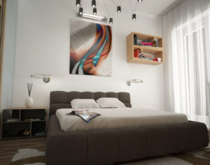 Bedroom 3D interior Scene