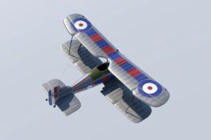Biplane Fighter 3D Model