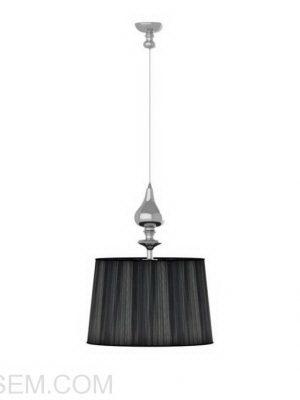 Black Ceiling Light 3D Model