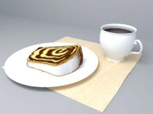 Breakfast Free 3D Model