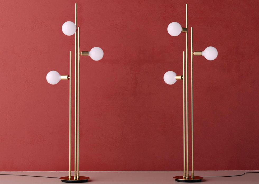 Bulb Floor Lamps 3D Model