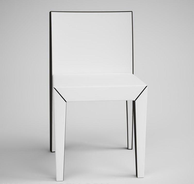 CGAxis Chair Model 3D