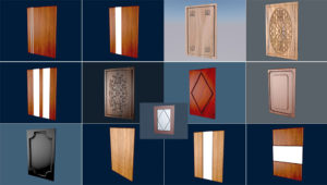 Cabinet Door 3D Collection