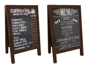 Cafe Chalkboard 3D Model
