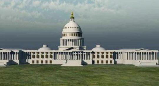 Capitol Building 3D Model