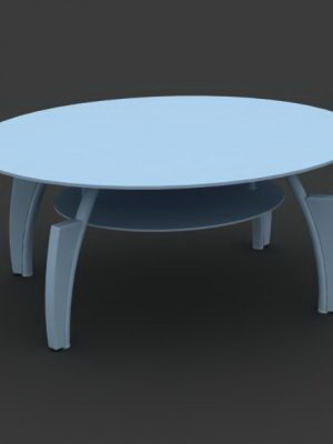 Center Table Free 3D Model