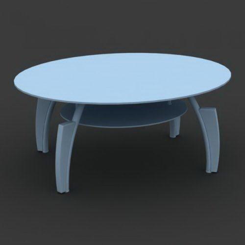 Center Table Free 3D Model - C4D Download