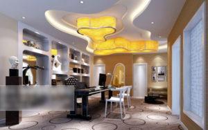 Ceo Room Interior Design 3D Model