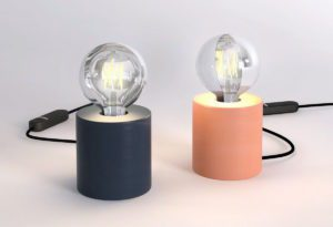 Candle Table Lamp 3D Model