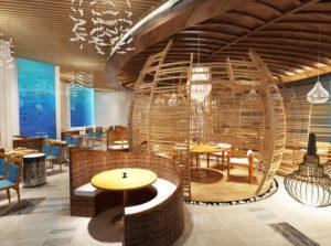 Chenese Restaurant 3D Interior Scene