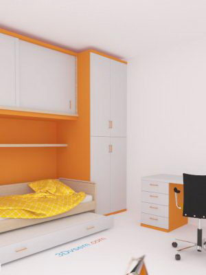 Children's Room Furniture 3D Model