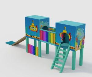 Childrens Slide Free 3D Model