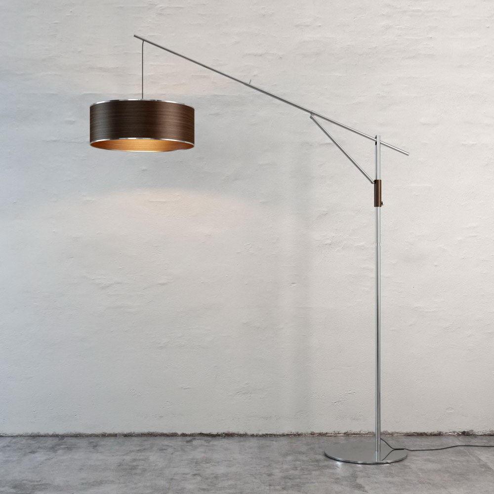 Chrome Ground Floor Lamp 3D Model