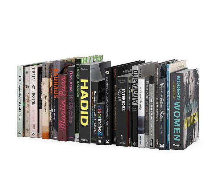 Cinema 4D Books 3D Model