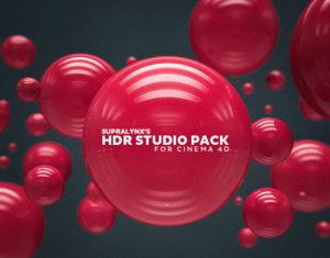 Cinema 4D HDR Studio Pack