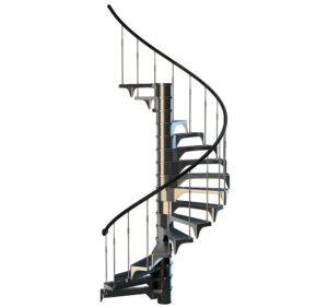 Circular Staircase 3D Model
