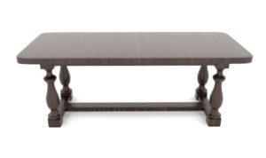 Classic Dinner Table Free 3D Model