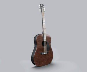Classic Guitar PBR 3D Model