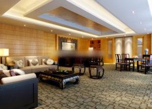 Classic Manager Room Interior Scene 3D Model
