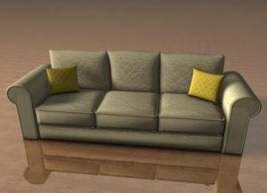 Classic Sofa Free 3D Model