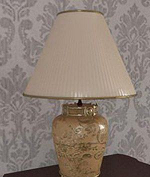 Classical Style Desk Lamp 3D Model