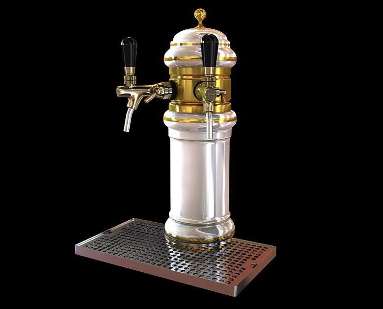 Column Beer Dispenser 3D Model