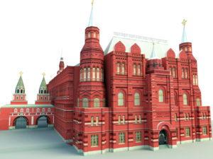 Continental Building 3D Model