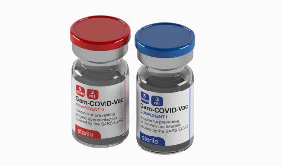 Covid 19 Vaccine 3D Model