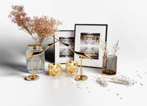 Creative Decoration Set 3D Model