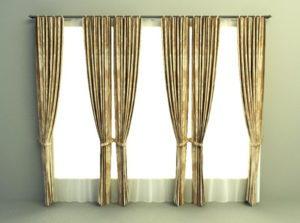 Curtain Walmart Free 3D Model