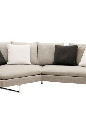 Curved Sofa 3D Model