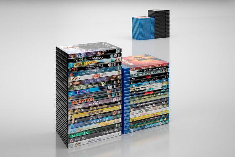 DVD Cover 3D Model