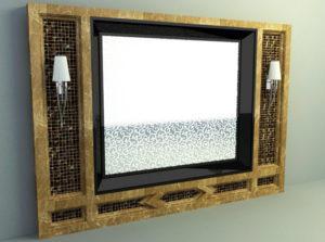 Dark Marble 3D Wall Panel