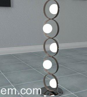 Decorative 3D Floor Lamp