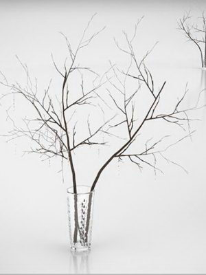 Decorative Branches 3D Model