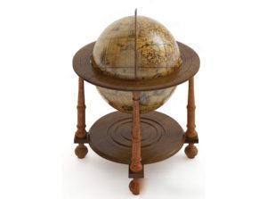 Decorative Globe 3D Model