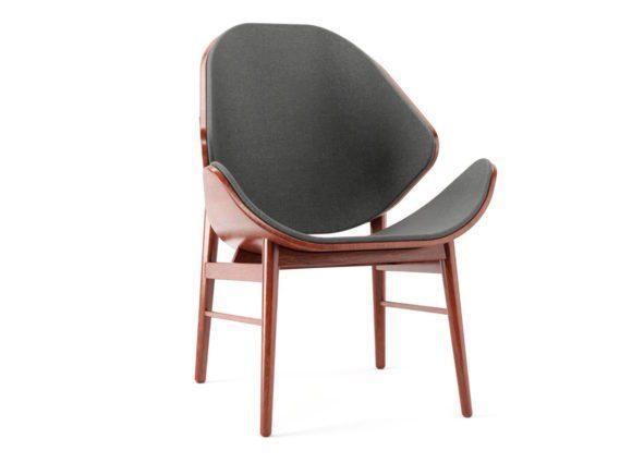 Decorative Old Wooden Armchair 3D Model