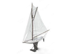 Decorative Sail Boat 3D Model