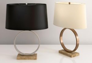 Decorative Table Lamp 3D Model