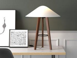 Decorative Table Lamp Free 3D Model