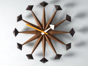 Decorative Wooden Wall Clock  3D Model