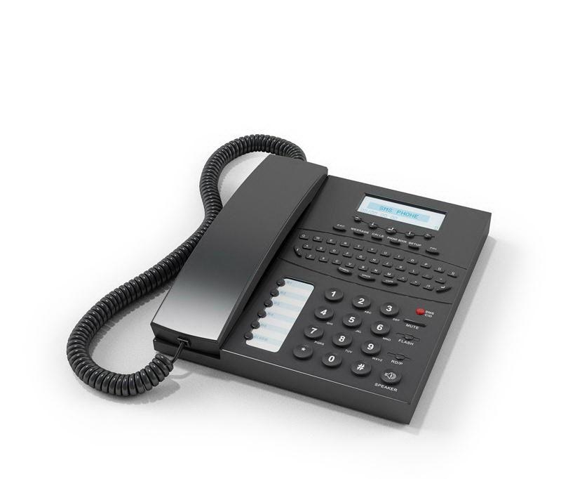 Desk Phone 3D Model