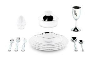 Dinner Dishes Set 3D Model